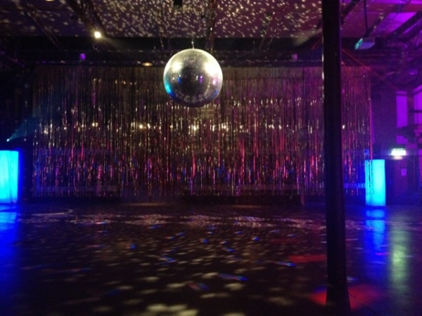 The Nordic Game Mirrorball. The Biggestest In Zee World
