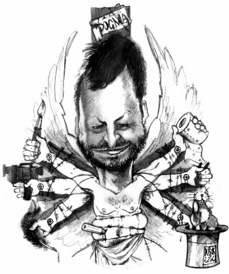 lars von trier cartoon