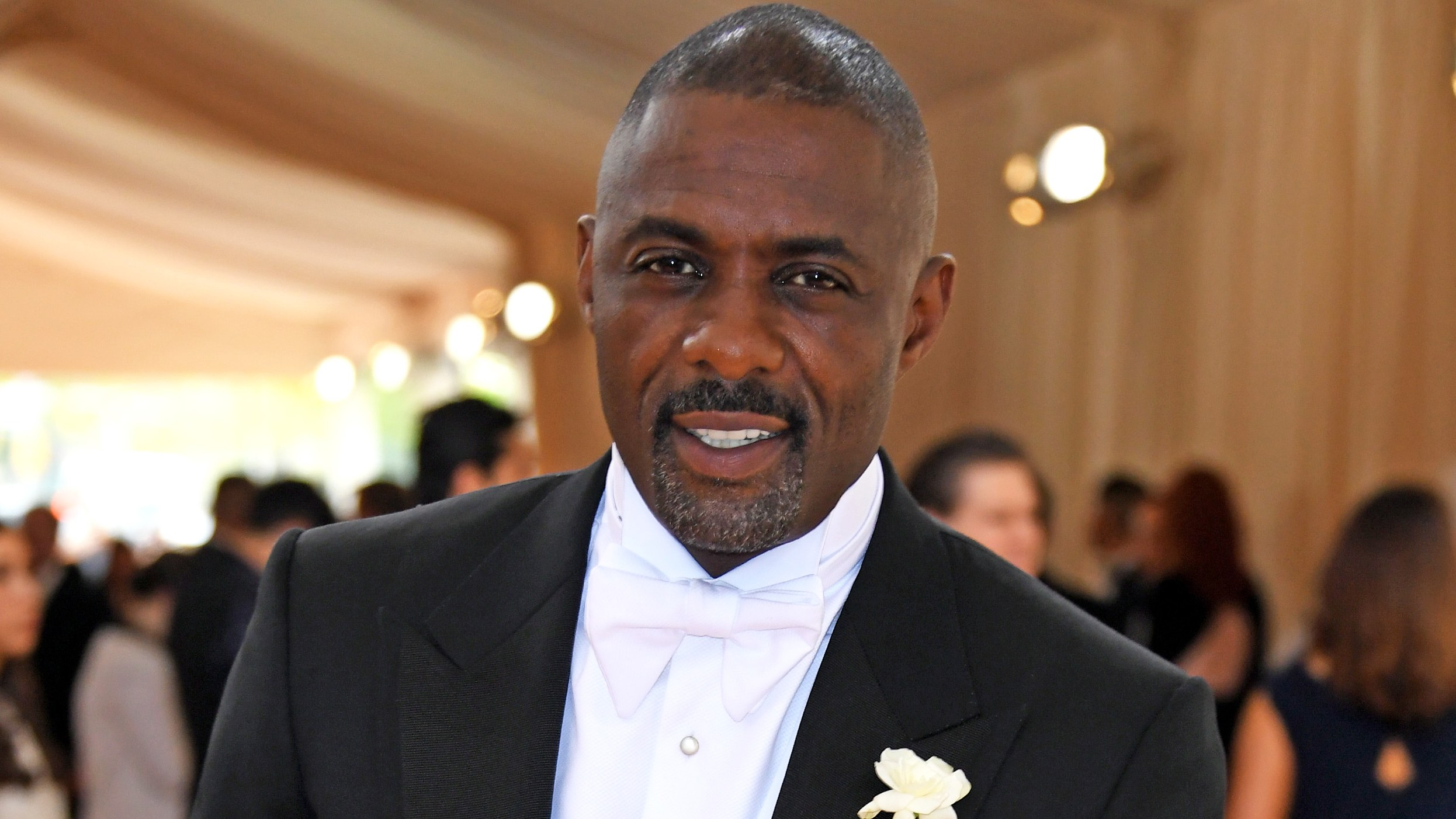 Idris Elba at the MET ball, source GQ/Getty