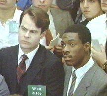 Trading Places still - Billy Ray and Louis Winthorpe